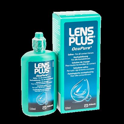 Lens Plus Contact lens solution